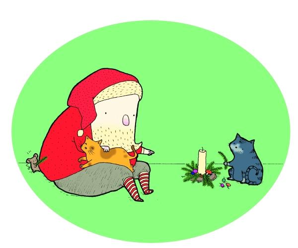 Julekort-Stine