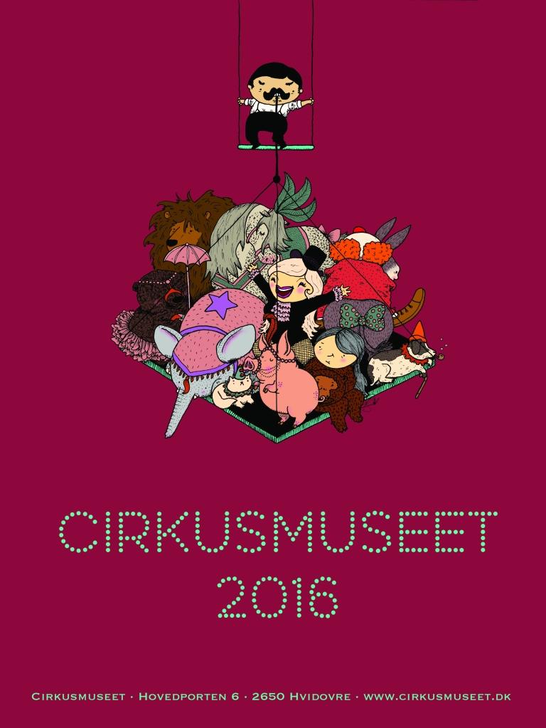 Cirkusmus-plakat
